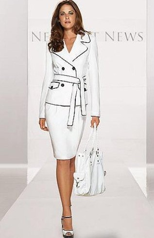 Siyah beyaz etekli kombin pictures to pin on pinterest - Siyah Beyaz 195 194 167 Izgili Elbise Modeli Pictures To Pin On