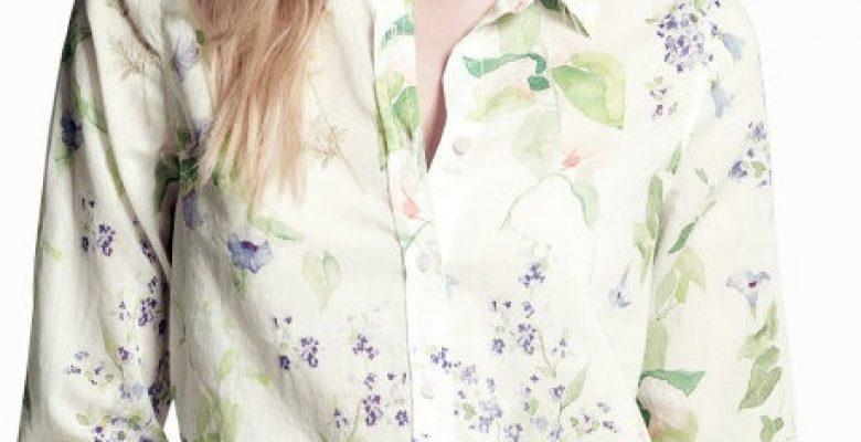 H&M Bayan Baharlık Gömlek & Bluz Modelleri