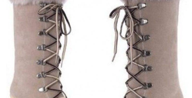 Dolgu Topuklu Çizme Modelleri