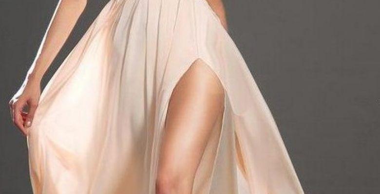 Derin Yırtmaçlı Abiye Elbise Modelleri