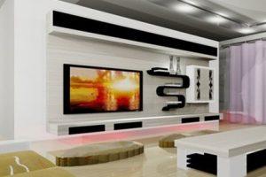LCD ve Plazma Televizyonlar İçin TV Ünitesi Modelleri