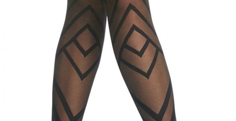 Penti Desenli Külotlu Çorap Modelleri