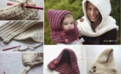 Kışlık Bebek ve Çocuk Şapkası Modelleri